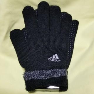 アディダス(adidas)のadidas 手袋 黒(手袋)