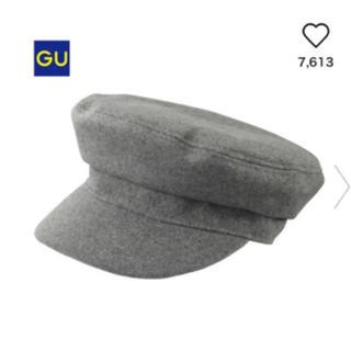 ジーユー(GU)のGU キャスケット マリンキャップ(キャスケット)