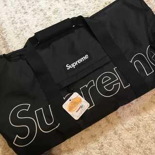シュプリーム(Supreme)のSupreme 18FW Duffle Bag 黒(ドラムバッグ)