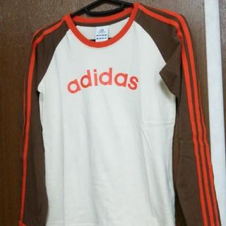 アディダス(adidas)の美品❗adidas(アディダス)のロンT 、長袖Tシャツ(Tシャツ(長袖/七分))