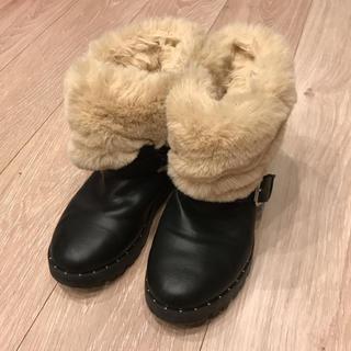 ザラ(ZARA)のゆいさん専用 ZARA キッズ ブーツ サイズ約21cm(ブーツ)