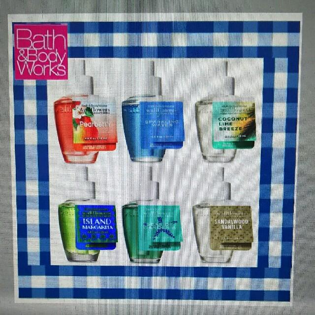Bath & Body Works(バスアンドボディーワークス)の3本セット! バスアンドボディワークス ウォールフラワー リフィル コスメ/美容のリラクゼーション(アロマオイル)の商品写真