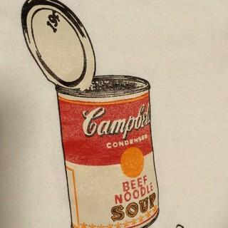 アンディウォーホル(Andy Warhol)のアンディウォーホル Tシャツ/キャンベルスープ缶(Tシャツ/カットソー(七分/長袖))