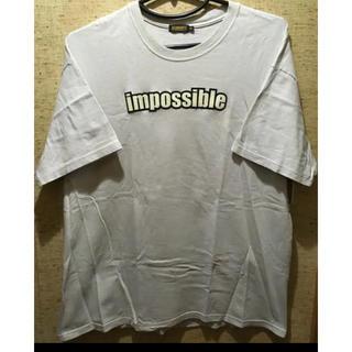 オールマイティALMIGHTY 半袖Tシャツ XL 薄いグレー