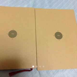 ムジルシリョウヒン(MUJI (無印良品))の無印良品 スケジュール帳 2冊セット(カレンダー/スケジュール)