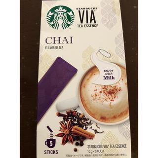 スターバックスコーヒー(Starbucks Coffee)のスターバックス VIA チャイ(茶)