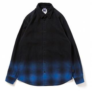 アップルバム(APPLEBUM)のAPPLEBUM Black Dye Check Shirt (シャツ)