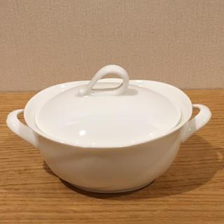 ノリタケ(Noritake)のノリタケ アンサンブルホワイト シュガーポット(食器)
