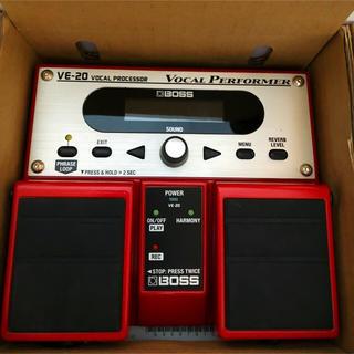 ボス(BOSS)の使用一回★超美品★ BOSS VE-20 ボーカルエフェクター(エフェクター)