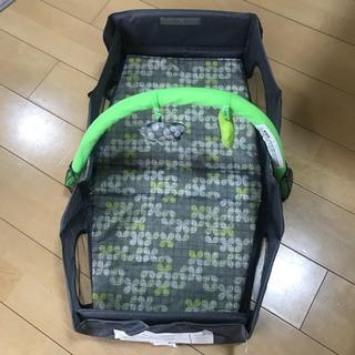みつよし様専用     ベビーベッド 折りたたみ 持ち運び 簡易ベビーベッド(簡易ベッド/折りたたみベッド)