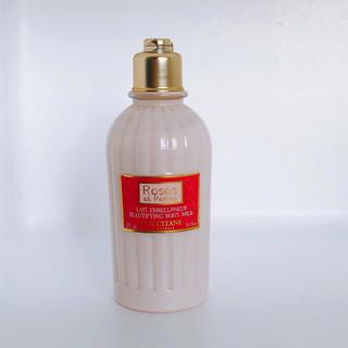 ロクシタン(L'OCCITANE)のL'OCCITANE✯ローズベルベットボディミルク(ボディ乳液)(ボディローション/ミルク)