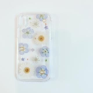 カットフルーツ iPhoneX.Xs 押し花ケース(スマホケース)