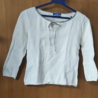 バーバリーブルーレーベル(BURBERRY BLUE LABEL)のバーバリー・ブルーレーベル カットソー(Tシャツ/カットソー)
