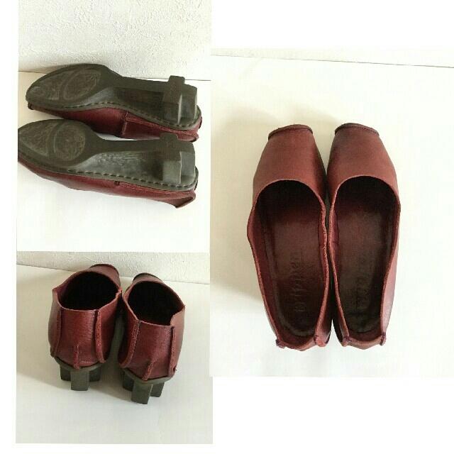 trippen(トリッペン)のトリッペン/パンプス/38 ボルドー レディースの靴/シューズ(ローファー/革靴)の商品写真