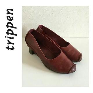 トリッペン(trippen)のトリッペン/パンプス/38 ボルドー(ローファー/革靴)