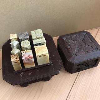 篆刻 石印材(彫刻/オブジェ)