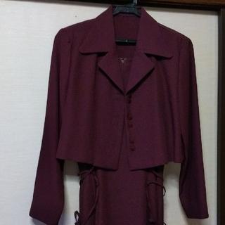 スーツ ロングワンピース(スーツ)