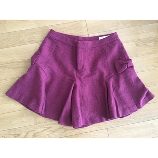 クチュールブローチ(Couture Brooch)のクチュールブローチ Couture brooth キュロット レッド(キュロット)