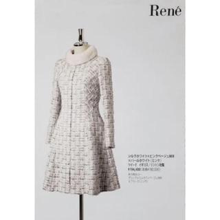 ルネ(René)のルネRene受注会ミンクツイードコート  34 FOXEY(ロングコート)