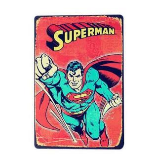 スーパーマンメタル プレート(パネル)