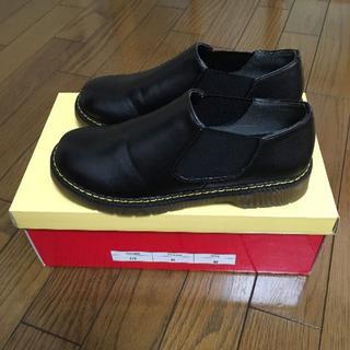 シュガーシュガー(Sugar Sugar)のサイドゴア レディースシューズ M23.0cm(ローファー/革靴)