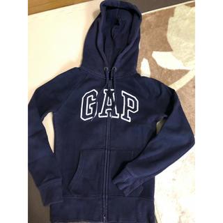 ギャップ(GAP)のGAP ギャップ パーカー 紺×白 150〜160(ジャケット/上着)