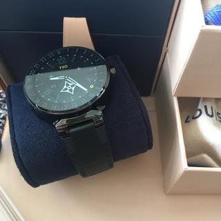ルイヴィトン(LOUIS VUITTON)の【正規品】LOUIS VUITTON直営店予約購入品/タンブールホライゾン(腕時計(デジタル))