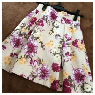 リランドチュール(Rirandture)の新品未使用タグ付♡フラワースカート(ミニスカート)