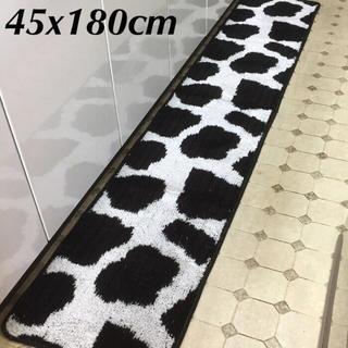 ■45x180cm■【日本製】ホルスタイン  /牛/アニマル キッチンマット (キッチンマット)