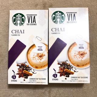 スターバックスコーヒー(Starbucks Coffee)のスターバックス VIA チャイティーラテ(茶)