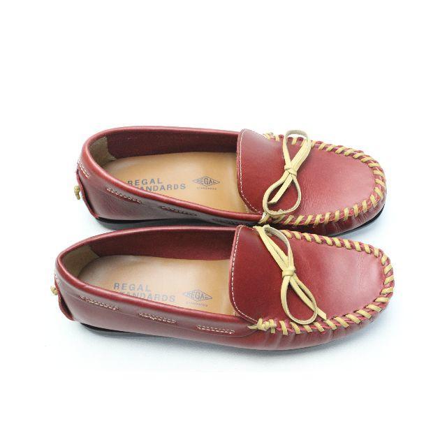 REGAL(リーガル)の120■新品♪REGAL 本革モカシンローファー(M)STANDARDS レディースの靴/シューズ(スリッポン/モカシン)の商品写真