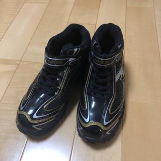 アキレス(Achilles)の瞬足 雪用スパイク付き防水スニーカー 24.0(ブーツ)