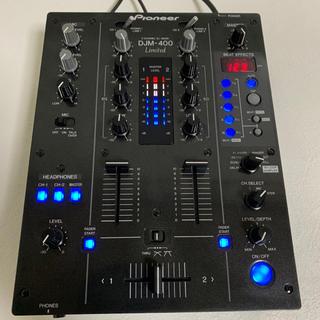 パイオニア(Pioneer)の【限定版】PIONNER DJM400K limited (DJミキサー)