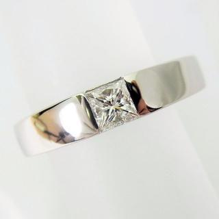 Pt900 ダイヤモンド リング 4号[f361-2](リング(指輪))
