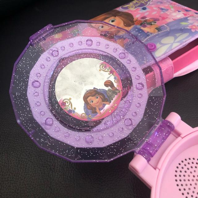 Takara Tomy(タカラトミー)のソフィア おしゃべりコンパクト おまけ付き キッズ/ベビー/マタニティのおもちゃ(知育玩具)の商品写真
