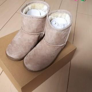ムジルシリョウヒン(MUJI (無印良品))の無印良品  トドラー  ムートンブーツ  ブーツ 20~21(ブーツ)