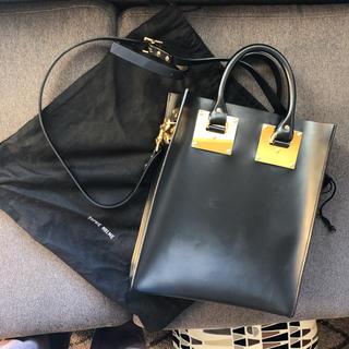 ソフィーヒュルム(SOPHIE HULME)のSOPHIE HULMEソフィーヒュルムバッグ黒bag(ショルダーバッグ)