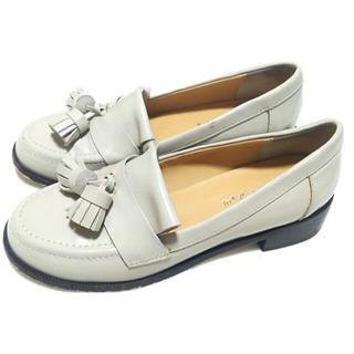 アニエスベー(agnes b.)のアニエスベー タッセルローファーシューズS 22.523定価27000アニエス靴(ローファー/革靴)