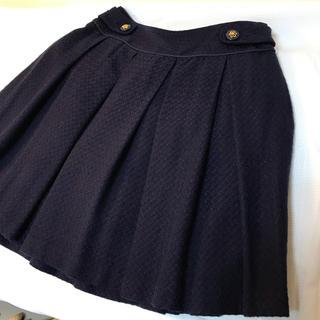プーラフリーム(pour la frime)のネイビーブルー スカート(ひざ丈スカート)
