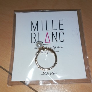 MILLE BLANC ピンキーリング (リング(指輪))