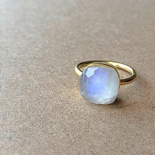 ホワイトラブラドライト リング(リング(指輪))