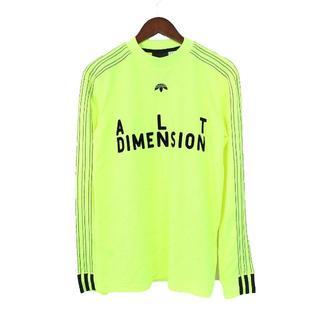 アレキサンダーワン(Alexander Wang)のアレキサンダーワン adidas 長袖カットソー イエロー 黄色 メンズ(Tシャツ/カットソー(七分/長袖))