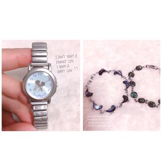 アルバ(ALBA)の【SEIKO】ALBA Disneyミッキーが回る腕時計✩︎稼働品(腕時計)