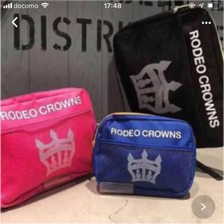ロデオクラウンズワイドボウル(RODEO CROWNS WIDE BOWL)の限定♡ノベポーチ3点セット(ポーチ)
