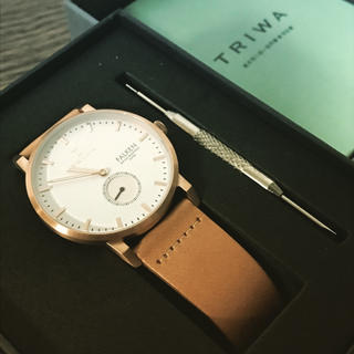トリワ(TRIWA)の【定価より1万円引き!】新品のトリワの時計♫(腕時計)