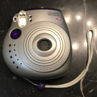 フジフイルム(富士フイルム)のチェキ 本体 instax mini 20 パープル 富士フイルム カメラ(フィルムカメラ)