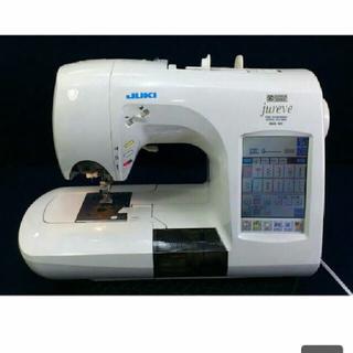 1万円引き 刺繍機付き 刺繍内蔵 厚地 文字 JUKI ジューキ ミシン 本体(その他 )