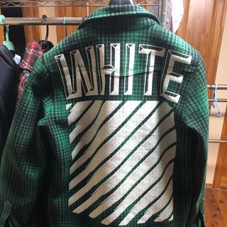 オフホワイト(OFF-WHITE)のoff-white ネルシャツ(その他)