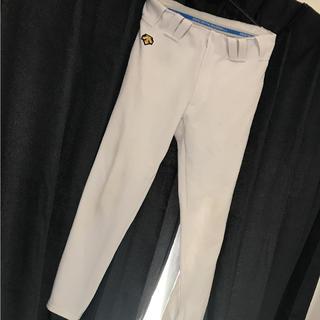 デサント(DESCENTE)の野球 ユニフォーム パンツ 白 サイズ L 足掛けストレート(ウェア)