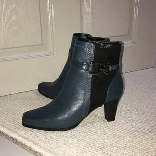 『激安ブーツ』冬限定ダークグリーンのブーツ(ブーツ)
